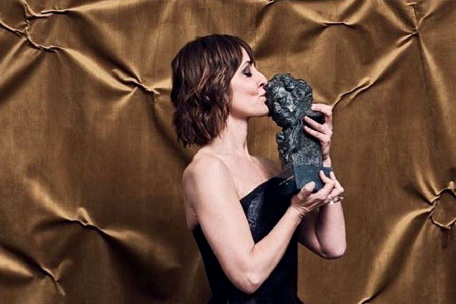 Natalie Poza ganadora del Goya a mejor actriz por «No sé decir adiós», co-producida por Womack Studios